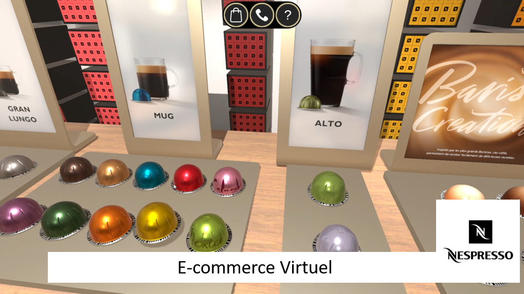 E-commerce Nespresso